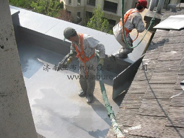 屋面聚脲防水