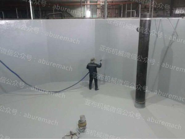 H3500型污水池聚脲防腐防水喷涂